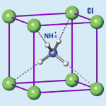 Why is NH4Cl ionic?