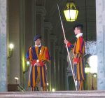 Why do swiss guards guard the Vatican?