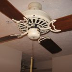 Why do ceiling fans get dusty?