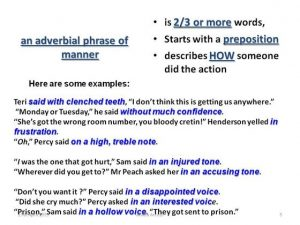 Difference between adverb and adverbial-1