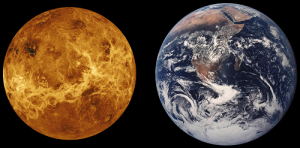 Similarities Between Venus and Earth